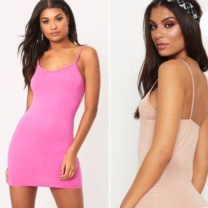 2 PrettyLittleThing Tank Dresses: Bundle
